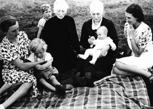 Juni 1940 auf dem Deich