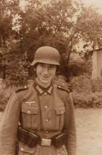 1942 Mein Vater als einfacher Soldat