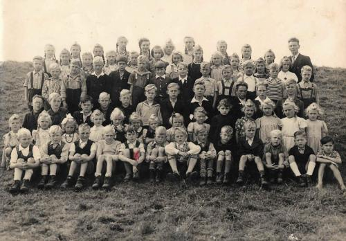 Mai 1948 auf dem Deich