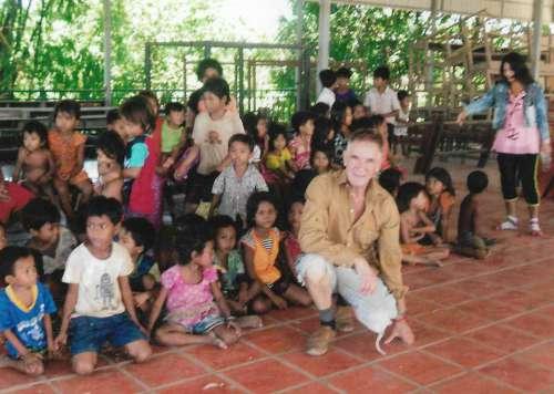 2010 Besuch im Kinderhaus