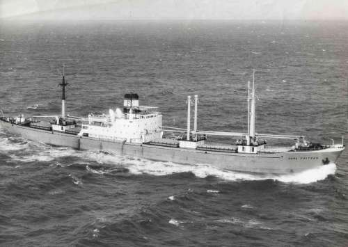 Januar 1959 im Atlantik
