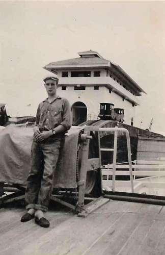 Juni 1958 Panama-Kanal