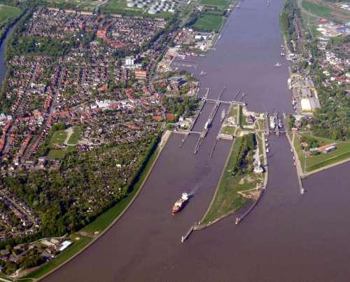 Nord-Ostsee-Kanal Brunsbüttel